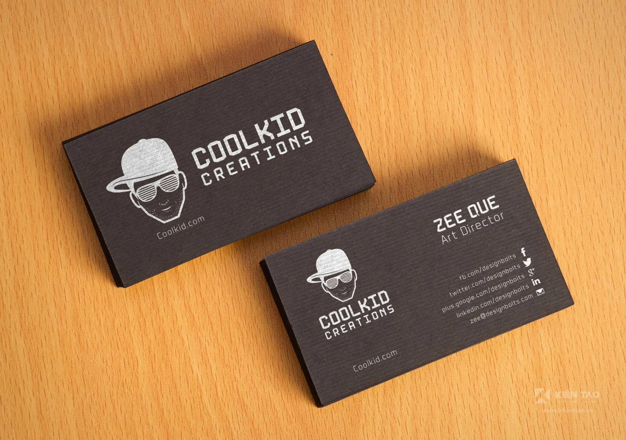 Free Black Textured Fancy Business Card Design Mockup PSD - Free-Black-Textured-Fancy-Business-Card-Design-Mockup-PSD