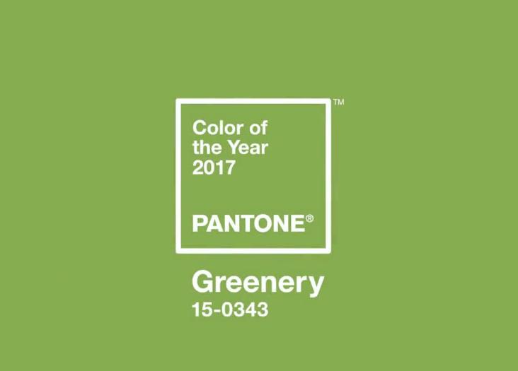 mau sac cua nam 2017 1 - Màu của năm 2017 – Greenery