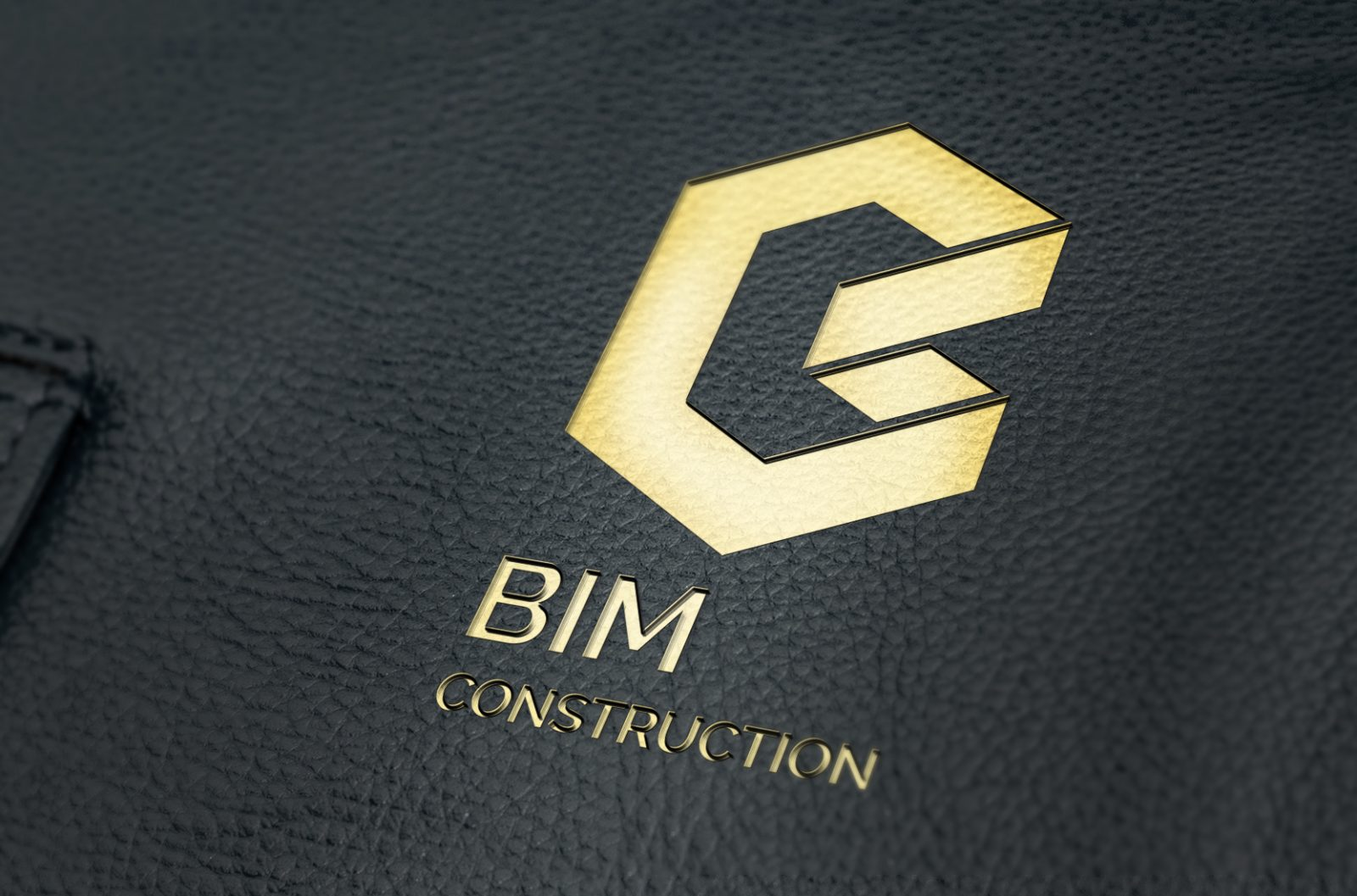 Embossed Leather Mock Up v1 1600x1057 - Bim Construction