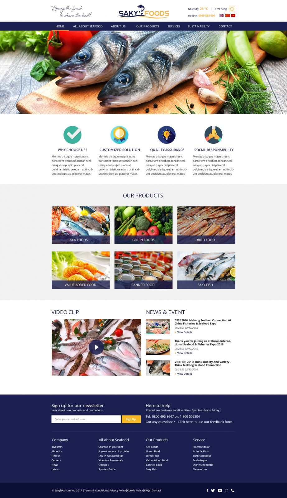 Home page 922x1600 - Website Projects 2014