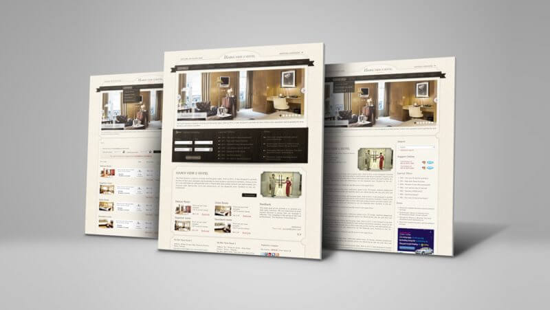 Website Showcase Mock Up 033 800x451 - Hanoi View2 Hotel