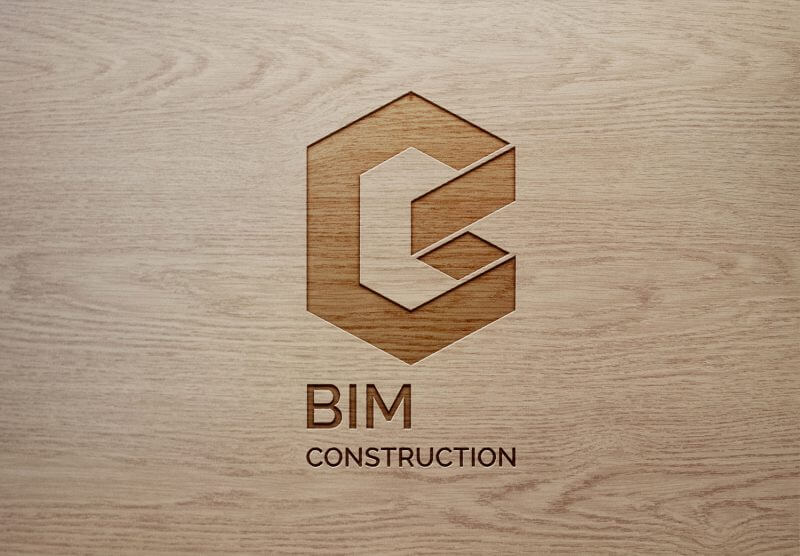 Wood Engraved Logo MockUp 2 800x556 - Bim Construction