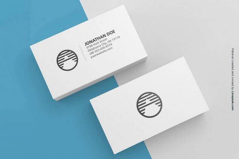 3 Blank Business Cards Mockup 800x532 - Kim chỉ nam thiết kế danh thiếp