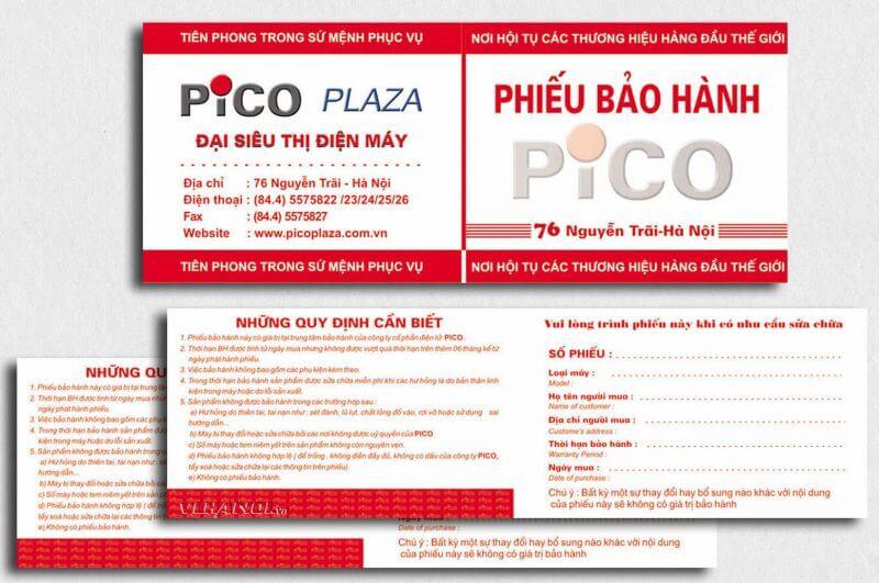 Phiếu bảo hành 07 800x531 - Kinh nghiệm về in phiếu bảo hành giá rẻ tại Đà Nẵng
