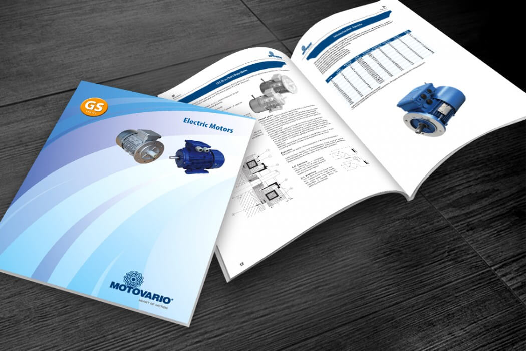 motor catalogue design 1050x700 - Thiết kế Profile, Catalogue