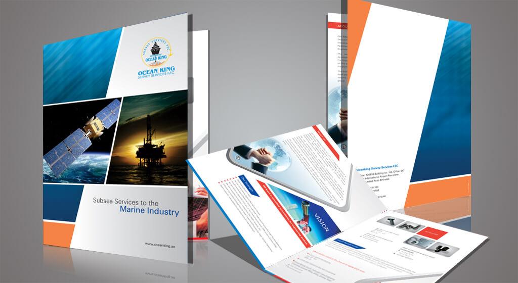 ocean brochure - Thiết kế Profile, Catalogue