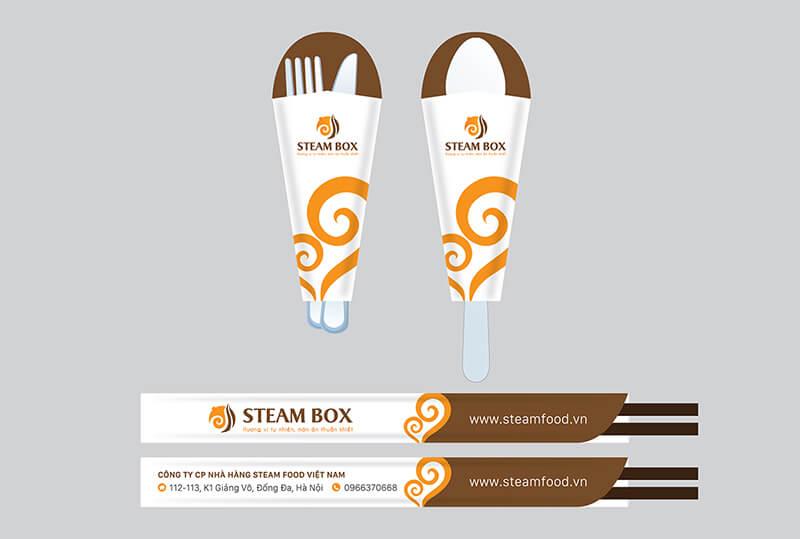 Dung cu an uong nha hang steam box1487139034 - In bao đũa, giấy lót bàn
