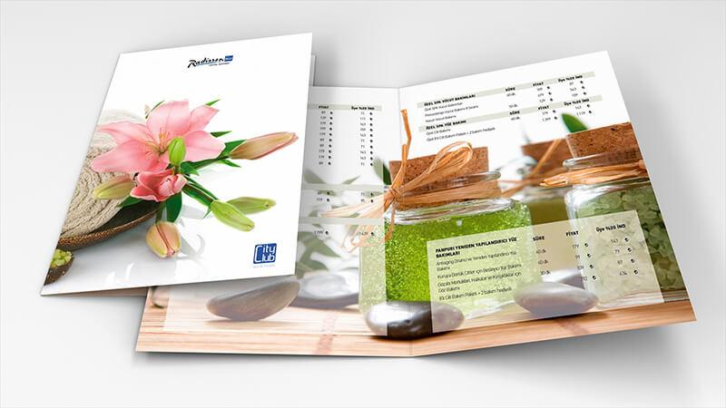 Simple Spa Menu - Thuật ngữ thiết kế in ấn chuyên dùng