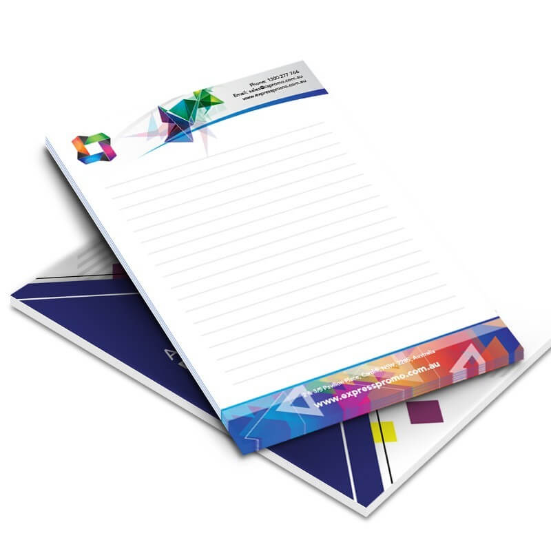a5 notepad 50 pages per pad 100gsm full colour - In sổ ghi chú