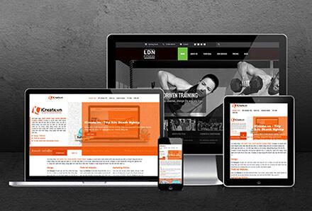 thiet ke web tuy ung reponsive - Homepage