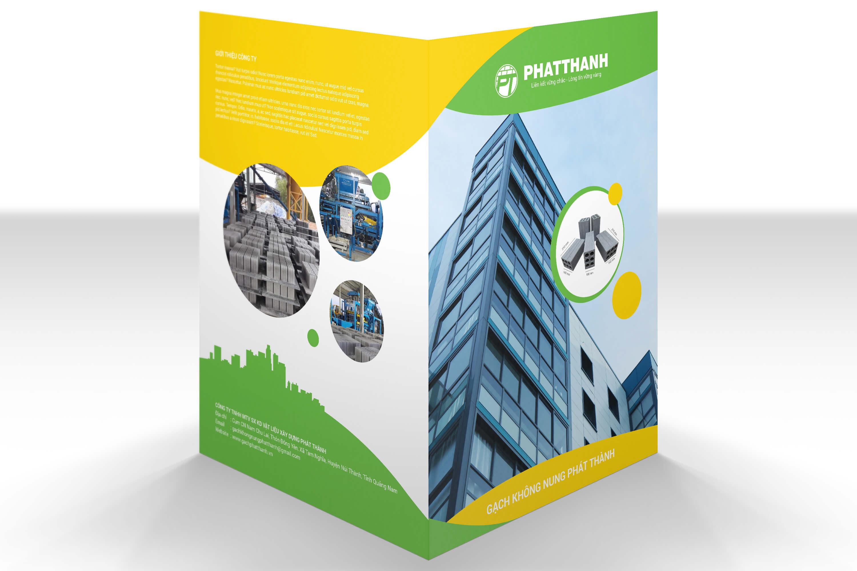 Folder mat ngoai - Bộ nhận diện thương hiệu _ bước đầu tạo nên thương hiệu cho công ty