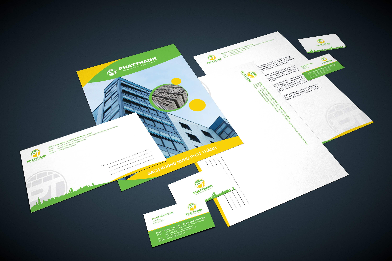 Mockup option2 - Bộ nhận diện thương hiệu _ bước đầu tạo nên thương hiệu cho công ty