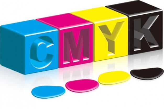 NHOM IN Mau CMYK - Thuật ngữ thiết kế in ấn chuyên dùng