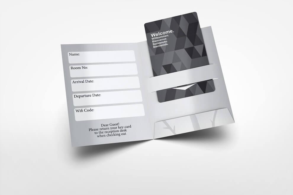 Hotel KEY CARD DaNang - Các sản phẩm in ấn dành cho khách sạn, resort tại Đà Nẵng
