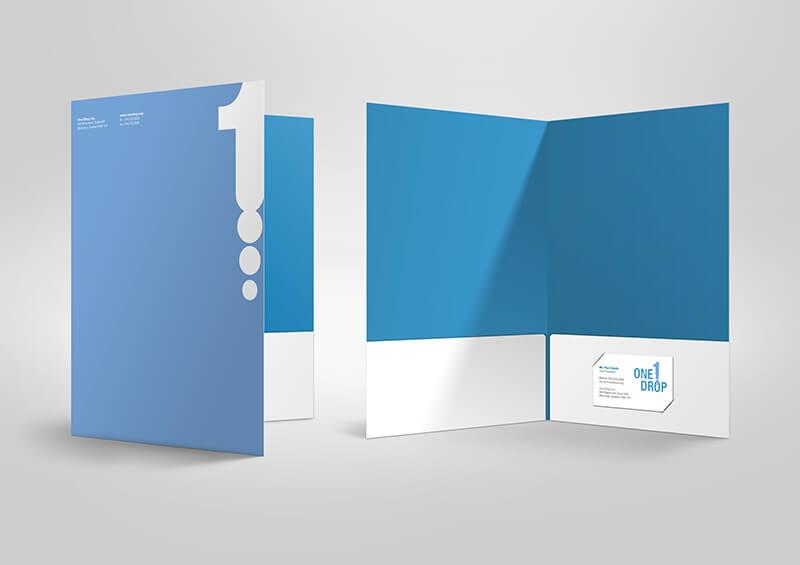 Presentation Folder Mockup 03 2000 - In kẹp file tài liệu